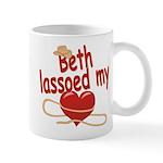 Beth Lassoed My Heart Mug