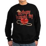 Bethany Lassoed My Heart Sweatshirt (dark)