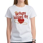 Bethany Lassoed My Heart Women's T-Shirt