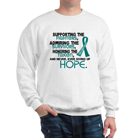© Supporting Admiring 3.2 Ovarian Cancer Shirts Sw