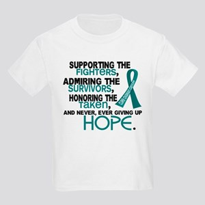 © Supporting Admiring 3.2 Ovarian Cancer Shirts Ki