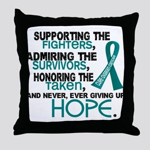 © Supporting Admiring 3.2 Ovarian Cancer Shirts Th