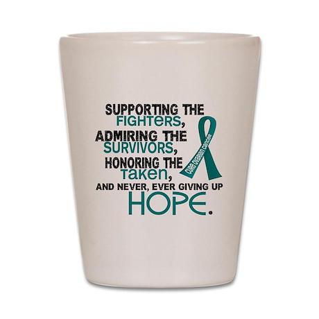 © Supporting Admiring 3.2 Ovarian Cancer Shirts Sh