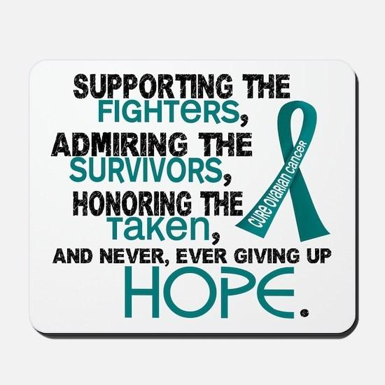 © Supporting Admiring 3.2 Ovarian Cancer Shirts Mo