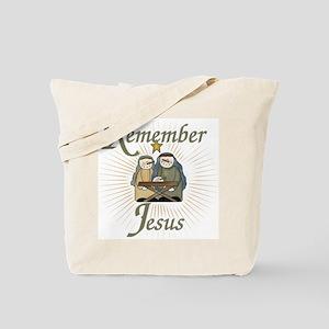Remember Jesus Tote Bag