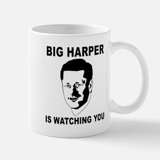 Big Harper Is Watching You - Stop Internet Control