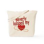 Beverly Lassoed My Heart Tote Bag