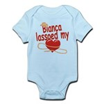 Bianca Lassoed My Heart Infant Bodysuit