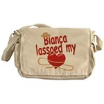 Bianca Lassoed My Heart Messenger Bag