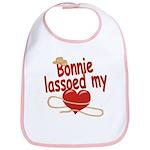 Bonnie Lassoed My Heart Bib