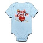 Brandi Lassoed My Heart Infant Bodysuit