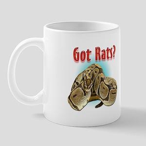 Python Snake Got Rats Mug