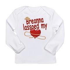 Breanna Lassoed My Heart Long Sleeve Infant T-Shir
