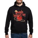 Brenda Lassoed My Heart Hoodie (dark)