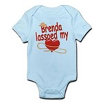 Brenda Lassoed My Heart Infant Bodysuit