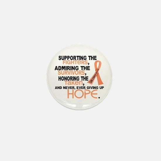© Supporting Admiring 3.2 Uterine Cancer Shirts Mi