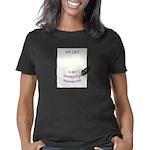 INCOMPLETE MANUSCRIPT purp Women's Classic T-Shirt