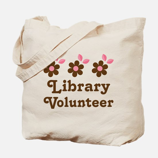 Cute Library volunteer Tote Bag