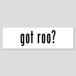 GOT ROO Sticker (Bumper)