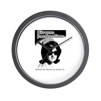 Jackie O Show Wall Clock