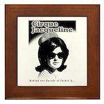 Jackie O Show Framed Tile