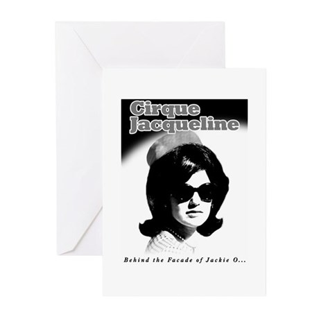 Jackie O Show Greeting Cards (Pk of 10)