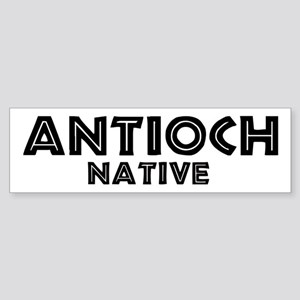 Antioch Native Bumper Sticker