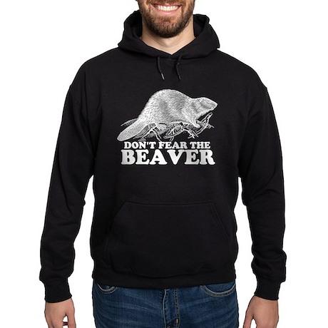"""Don't Fear the Beaver"" Hoodie (dark)"