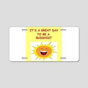 great day designs Aluminum License Plate
