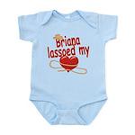 Briana Lassoed My Heart Infant Bodysuit