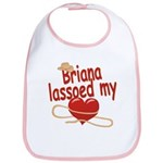 Briana Lassoed My Heart Bib