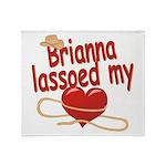 Brianna Lassoed My Heart Throw Blanket