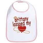 Brittany Lassoed My Heart Bib