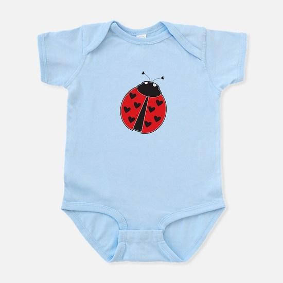 Lady Bug Infant Bodysuit