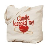 Camila Lassoed My Heart Tote Bag