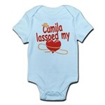 Camila Lassoed My Heart Infant Bodysuit