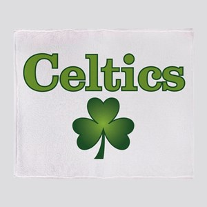 Celtics Throw Blanket
