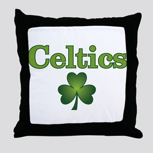 Celtics Throw Pillow