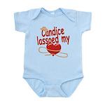 Candice Lassoed My Heart Infant Bodysuit