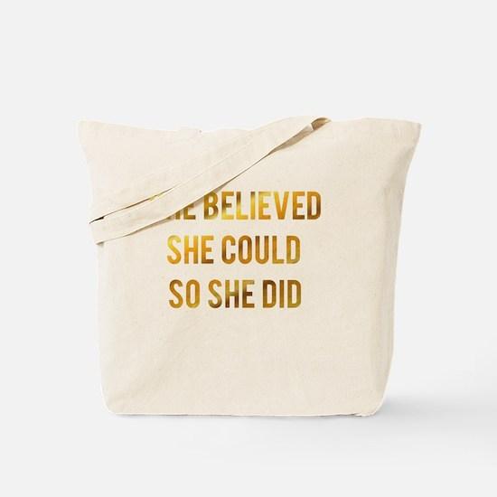 Cute Golding Tote Bag