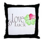 Love & Luck Throw Pillow