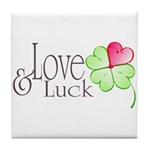 Love & Luck Tile Coaster