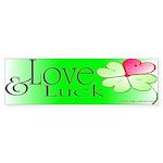 Love & Luck Sticker (Bumper 10 pk)