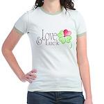 Love & Luck Jr. Ringer T-Shirt
