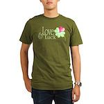 Love & Luck Organic Men's T-Shirt (dark)
