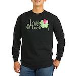 Love & Luck Long Sleeve Dark T-Shirt