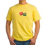 I Love My Wife Yellow T-Shirt