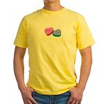 MEH Anti Valentine Yellow T-Shirt