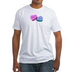 MEH Anti Valentine Fitted T-Shirt