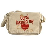 Carol Lassoed My Heart Messenger Bag